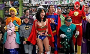 Big Bang Theory Justice League